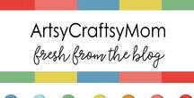 ArtsyCraftsyMom Blog / ArtsyCraftsyMom.com offers easy DIY projects, unique family activities and beautiful photography. The activities featured on the blog are all Mom-Approved & Child Friendly. There are Activities classified based on Age – Toddlers (2-3) , Preschooler (3-5), Kindergartner (5-7), PrimarySchool(7-9) , Preteens & Teens / Adults,   Occasion , Type & Materials used.