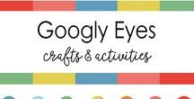 Googly Eyes Art and Craft / Googly Eyes have as many names as they have uses. Stick on to anything to bring it to life.
