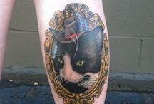 Dexter the Store Cat Tattoo Possibilities