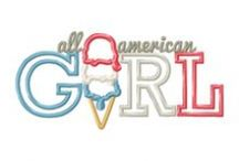 Applique - Girls / by Ginger Collins