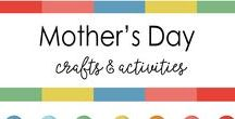 Mother's day Ideas / Mother's day - art , Craft , handmade gift ideas for kids