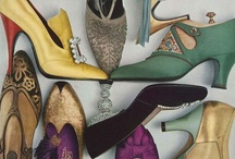 Vintage Shoes / by Chentzu Hester