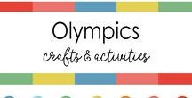 Olympics  Art &  craft ideas for kids / Crafts related to Olympics - Winter, Summer, Rings, Games to play at home.