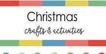 Christmas Crafts, Decorations, gifting ideas & more / Decorations, gifting ideas, Holiday, Reindeer, snow crafts,