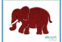 Applique - Elephants / by Ginger Collins