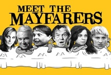 """Meet the Mayfarers / """"Meet the Mayfarers"""" is a comedy about an estranged, dysfunctional family who is forced to live together for one year in order to get their grandfather's massive inheritance."""