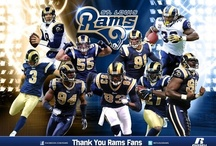 Hometown St. Louis Rams / by Chentzu Hester
