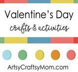 Valentine's day Ideas / Last-Minute Valentine's Day Ideas. Valentine's Day Cards, Heart-Shaped Crafts. Child-made gifts & activities.  Kids' Arts & Crafts [Valentine's Day]