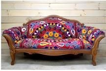 Chez Boheme Upholstered Furniture / by Chez Bohème