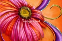 ⌒★‿Pink & Orange / by Sandi McEwen