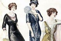 1910 to 1919 Fashion / The Great War Era / by Chentzu Hester