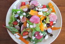 Salads / Green, grain, and noodle salads from kitchensinkdiaries.blogspot.com