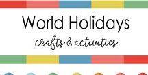 Indian Festivals & the world / Crafts, Art, Religion, customs - A wide variety of multinational festivals and holidays that are celebrated around the world.  Hannukah, Dussehra, Diwali, Holi, Id, Sankranti, Shivratri, Krishnastami, Lohri, Indian festivals, festivals of India.