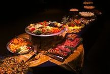 Amazing Buffets / These are some of my favorite buffet setups.