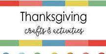 Thanksgiving - crafts, Turkey, Fall, / Thanksgiving  crafts ideas, decor, Turkey, Fall crafts & activities for kids