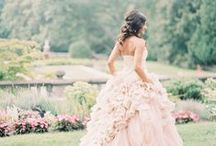 Romantic Weddings / Pink, Red, Warmth, Gold, Silver, Lace, and Pearls. Ethereal Romantic wedding inspiration. #nowthatsaparty