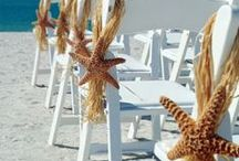 Beach weddings / The sand in your toes, the wind in your hair.