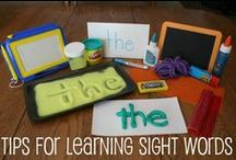 Sight Word Strategies / Sight word learning