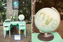Wedding Theme: Travel the World / Hochzeitsthema: Reise um die Welt