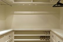 Closets -- Design and Organizing / by Tricia Cain