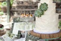 Wedding Color Inspiration: Greenery / Hochzeitsfarben: Grün