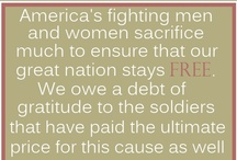 Military Service Quotes / Quotes that foster a sense of gratitude for those who have served or are currently serving in our Military.