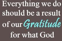 Gratitude Quotes / Quotes that foster a sense of gratitude
