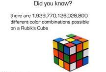 ® Rubik's Cube / Virtual Post-It Notes ~ Classic Rubik's Cube Update/Decor Ideas / by Melissa's Attic
