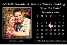 "Save the Date Calendar Magnet Ideas / A ""date"" to remember. Or should we say, "" a year to remember.""