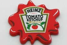 ✘ Heinz  / Virtual Post-It Notes ~ Heinz Ketchup Update/Decor Ideas / by Melissa's Attic
