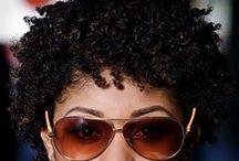 Gettn my hair did! / by Adrienne Rolls