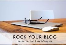 Socially Speaking / tips for using social media, enhancing your blog, making money and branding