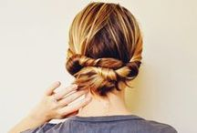 // hair / Dreamy hairstyles and styling tips.