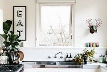 // home | kitchen / Kitchen decor and styling.