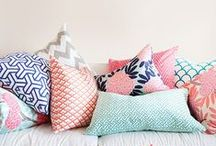 // cushions / Pillows and cushions to tempt!