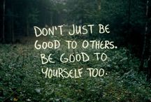 Words I'm going to try to live by and do / by julie A