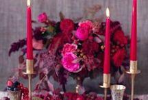 Wedding Color Inspiration: Wild Berries / Hochzeitsfarben: Beerentöne