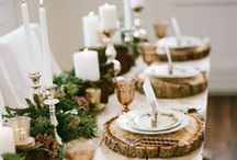 // christmas table / A very merry Christmas table.