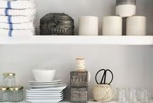 // open shelving / Open shelving ideas and tips.