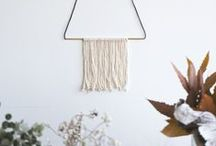 // wall decor / Adorn your walls with pretty things.
