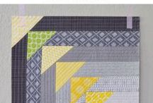 Quilt block patterns / Auditioning quilt blocks for bee quilts.