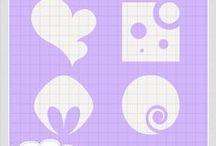 Mayma´s Shapes / Shapes /formas en formato psd psp