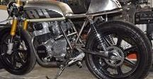 Yamaha XS400 café racer / Yamaha XS400 cafe racer / USD forks / bare metal / DIY / long term build