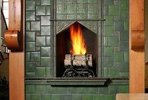 Craftsman Fireplaces and Mantels