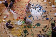 Atelier Kid / Art projects and space for kids. Reggio and Waldorf inspired.