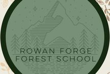 Rowan Forge Forest Homeschool / Our homeschooling adventures. Waldorf/Reggio/Forest based learning.
