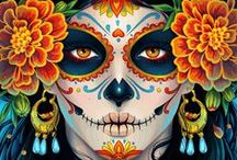 the best mexican women skull / immagini