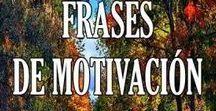 Frases de Motivación / Descubre el tablón con las mejores frases motivadoras. Aquí iremos colgando varias imagenes con frases de motivación muy buenas para superar cualquier obstáculo que te propongas. ¿Buscas motivarte o levantar el ánimo? Mira nuestros Mensajes de Motivación!