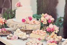 Sweet Table Inspirationen // Inspiration / Ideen und Inspirationen für die Gestaltung eines Sweet Tabels.