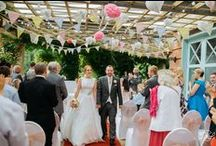 Wedding Decor Trends / Couples can say their vows on our covered terrace, with views over the beautiful Valley Gardens, or have reception drinks for a special event. Featured on the terrace features versatile trellising as well as Romanesque pillars. It also boasts a grand staircase for that all important entrance. Take some inspiration on how to decorate for that special occasion.